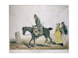 A Justass of the Peace Returning from Sessions Giclee Print by Henry William Bunbury