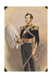 Portrait of an Officer in Full Military Dress, 1840 Giclee Print by Eleanor Cristian
