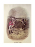 Golfing, 1820 Giclee Print by Tom Browne