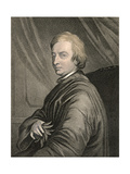 Portrait of John Dryden (1631-1700) Engraved by Charles Edward Wagstaff (B.1808) Pub. by William… Giclee Print by Thomas Hudson