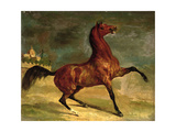 A Horse in a Landscape Giclee Print by Alfred Dedreux