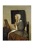 Young Woman at Her Toilet Giclee Print by Gabriel Metsu