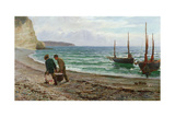 A Sea View, 1879 Giclee Print by Colin Hunter