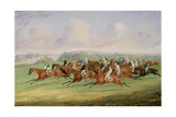 The Start of the Derby, 1844 Giclee Print by Henry Thomas Alken