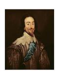 Charles I (1600-49) Lámina giclée por Daniel Mytens