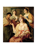 The Toilet of a Roman Lady, 1869 Giclee Print by Simeon Solomon