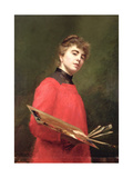 Self Portrait, 1889 Giclee Print by Emily Childers