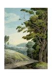 View from Rydal Park Giclee Print by Francis Towne