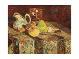 Still Life with White Pitcher, C.1878-80 Giclee Print by Adolphe Joseph Thomas Monticelli