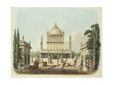 The Tomb of Hyder Ali and Tippoo Sultan, Plate 49 from 'Oriental Drawings', Engraved by Thomas… Giclee Print by Charles Emilius Gold