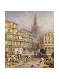 Seville Giclee Print by Myles Birket Foster