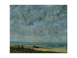 View of Olevano Giclee Print by Jean-Baptiste-Camille Corot
