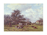 On a Sussex Farm Giclee Print by James Charles