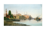 A View of Constantinople Giclee Print by F. Herink