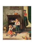 Children Playing Giclee Print by Jan Walraven