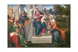 Heilige Familie Giclée-Druck von Bonifacio Veronese