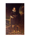 The Earl of Southampton Giclee Print by Cornelius Janssens van Ceulen