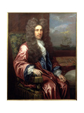 Portrait of Charles Calvert, 3rd Lord Baltimore (1647-1715) Governor of Maryland Giclee Print by Johann Closterman