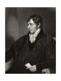 Richard Porson, Engraved by W. Holl, from 'National Portrait Gallery, Volume II', Published C.1835 Giclee Print by Thomas Kirkby