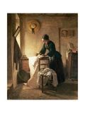 The Laundress Giclee Print by Pierre Edouard Frere