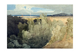 Brignall Banks on the Greta Giclee Print by John Sell Cotman