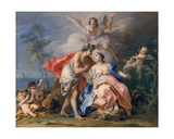 Bacchus and Ariadne Giclee Print by Jacopo Amigoni