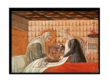 Birth of the Virgin, Detail of St. Anne and an Attendant, 1440 Giclee Print by Paolo Uccello