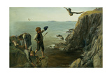 The Bonxie, Shetland, 1873 Giclee Print by James Clarke Hook