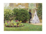 My Front Garden, 1864 Giclee Print by Frederick Walker