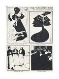 The Naughty Nineties, Period Drawings by the Famous Decadent Artist Giclee Print by Aubrey Beardsley