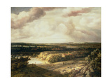 Panoramic Landscape Giclee Print by Phillips de Koninck