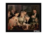 Wedding Presents, C.1880 Giclee Print by James Wells Champney