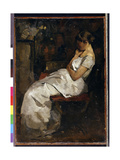 Girl in White, C.1889 Giclee Print by Willem de Zwart