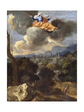The Translation of St. Rita of Cascia Giclee Print by Nicolas Poussin