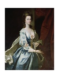 Letitia Townshend, Countess of Exeter (Wife of the 9th Earl) Giclee Print by John Powell