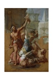 Study for the Massacre of the Innocents, C.1700-10 Giclee Print by Francesco Trevisani