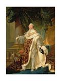 LouisXVI (1754-93) Giclee Print by Antoine Francois Callet