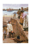 Between the Tides Giclee Print by Walter Langley