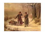 Caught Giclee Print by Carl Johann Arnold