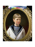 Portrait of a Boy, Possibly Prince Anatoly Levin Giclee Print by Ivan Nikolaevich Kramskoy