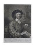 Thomas Britton (1644-1714), the Small-Coal Man, Engraved by Thomas Johnson Giclee Print by John Wollaston
