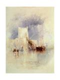 Carrickfergus, Ireland Giclee Print by Thomas Creswick