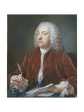Portrait of Taylor White, Treasurer of the Foundling Hospital, 1758 Giclee Print by Francis Cotes