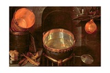 Still Life of Kitchen Utensils, 17th Century Giclee Print by Cornelis Jacobsz Delff