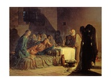 The Last Supper, 1863 Giclee Print by Nikolai Nikolaevich Ge
