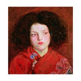 The Irish Girl Giclee Print by Ford Madox Brown