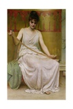 Neaera Reading a Letter from Catullus, C.1894 Giclee Print by Henry John Hudson