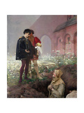 Hamlet and the Grave Digger, 1883 Giclee Print by Pascal Adolphe Jean Dagnan-Bouveret