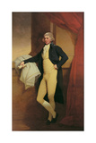 Portrait of Samuel Oldknow, C.1790-2 Giclee Print by Joseph Wright of Derby