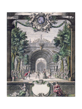 Set Design for an Unidentified Ballet, Taken from a Collection Entitled 'Menus Plaisirs Du Roi' Giclee Print